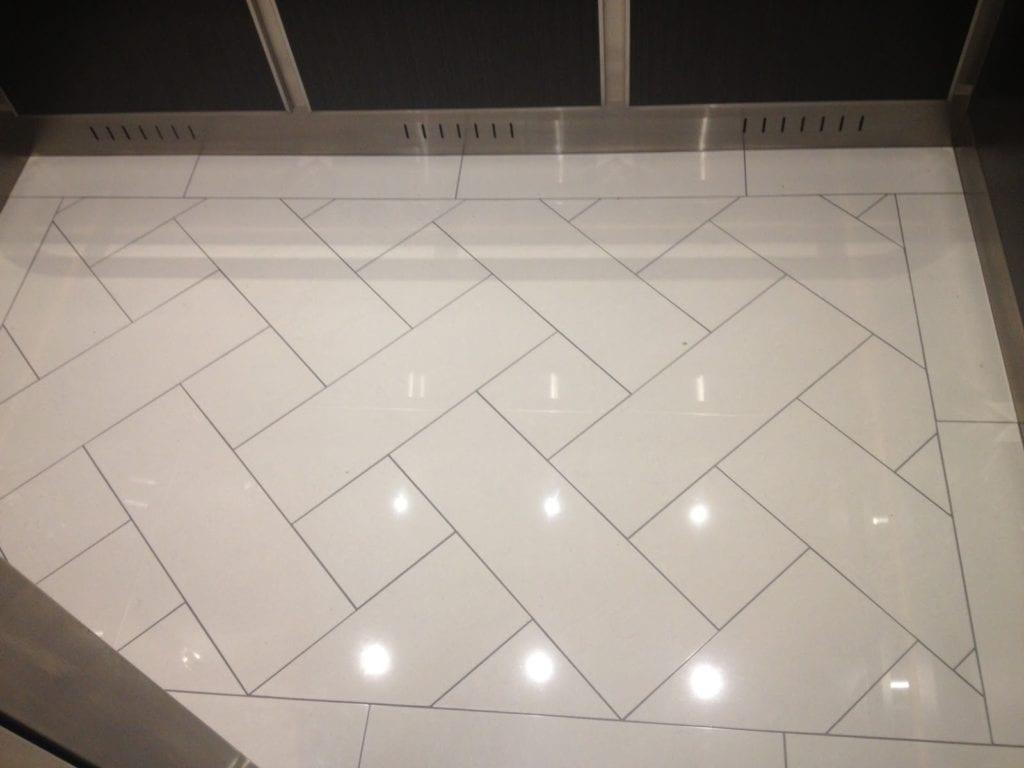 elevator cab flooring